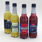 Beverage Bottles Bionade 500ml 3d model