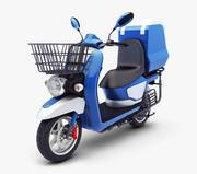 Scooter elettrico generico v 1 3d model