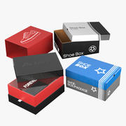 Pudełka na buty 3d model