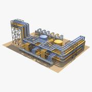 Tuberías industriales_4_ modelo 3d