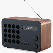 Radio Vitra Eames 3d model