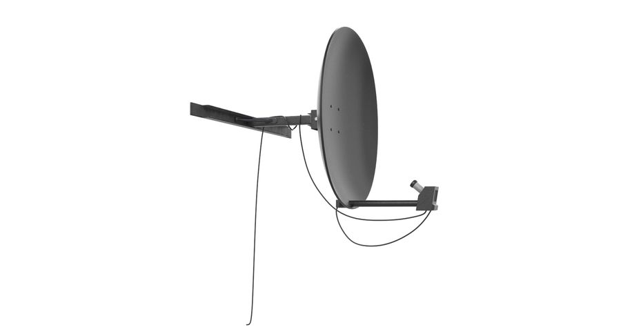 Satellite Dish royalty-free 3d model - Preview no. 3