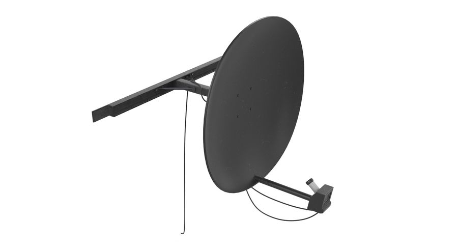 Satellite Dish royalty-free 3d model - Preview no. 8