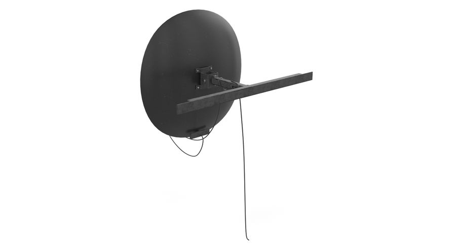 Satellite Dish royalty-free 3d model - Preview no. 9