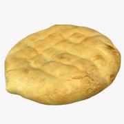 Pão sírio 3d model