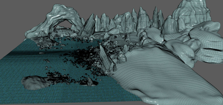 Arctic Environment royalty-free 3d model - Preview no. 19
