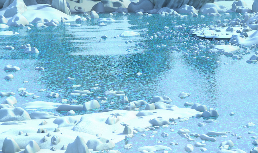 Arctic Environment royalty-free 3d model - Preview no. 4