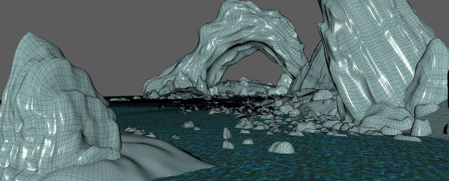 Arctic Environment royalty-free 3d model - Preview no. 21