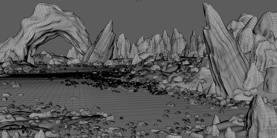 Arctic Environment royalty-free 3d model - Preview no. 3