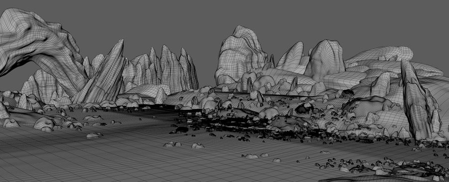 Arctic Environment royalty-free 3d model - Preview no. 11