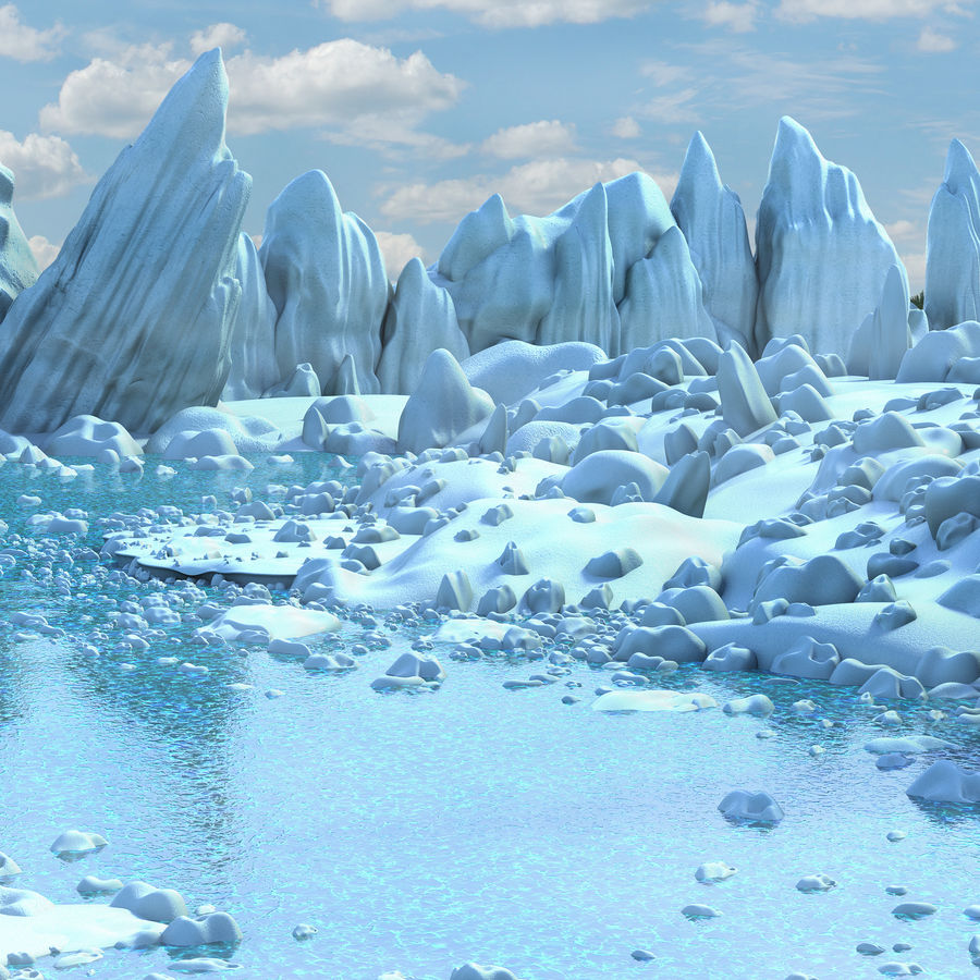 Arctic Environment royalty-free 3d model - Preview no. 9