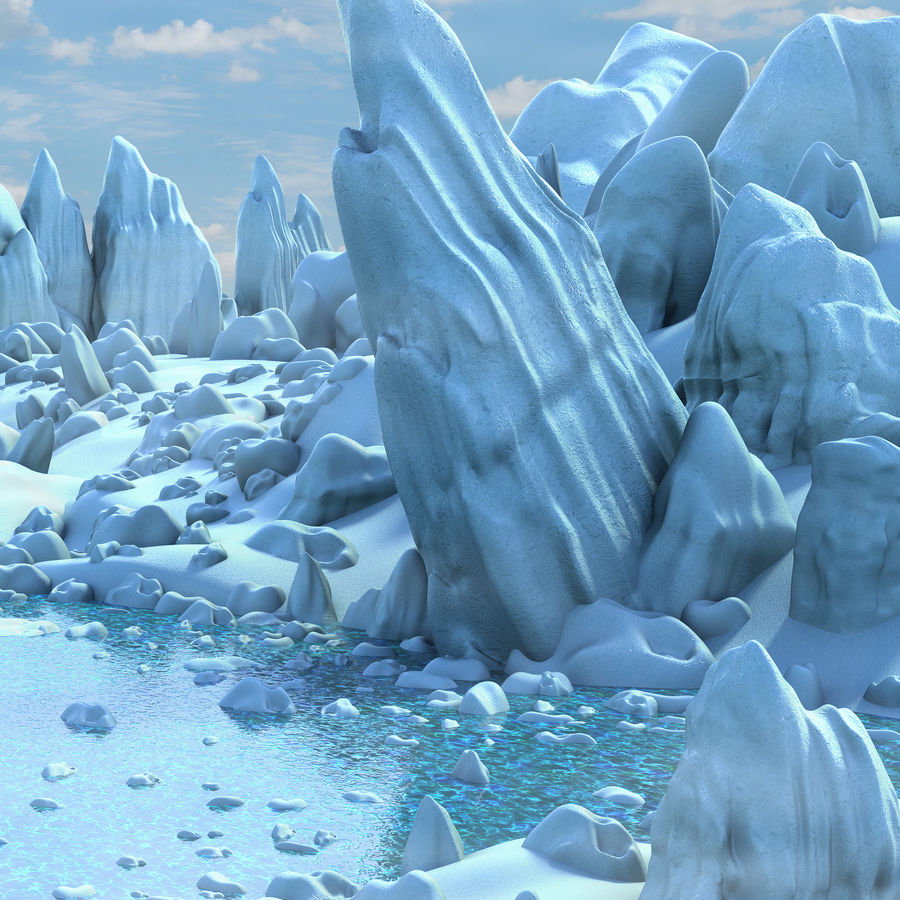 Arctic Environment royalty-free 3d model - Preview no. 8