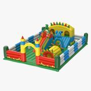 Aufblasbarer Spielplatz 3d model