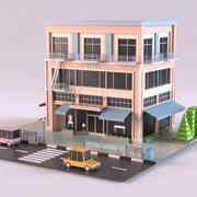 家具店01 3d model