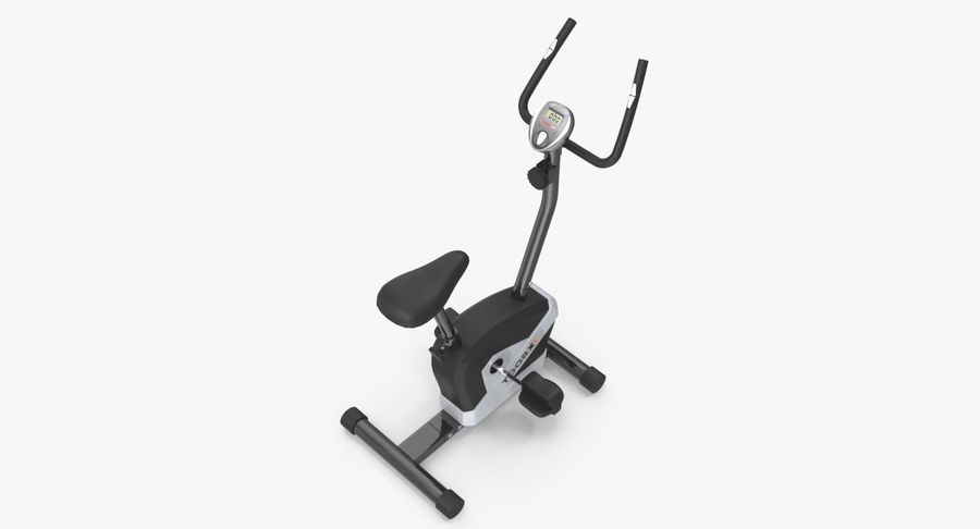 Exercise bike royalty-free 3d model - Preview no. 5