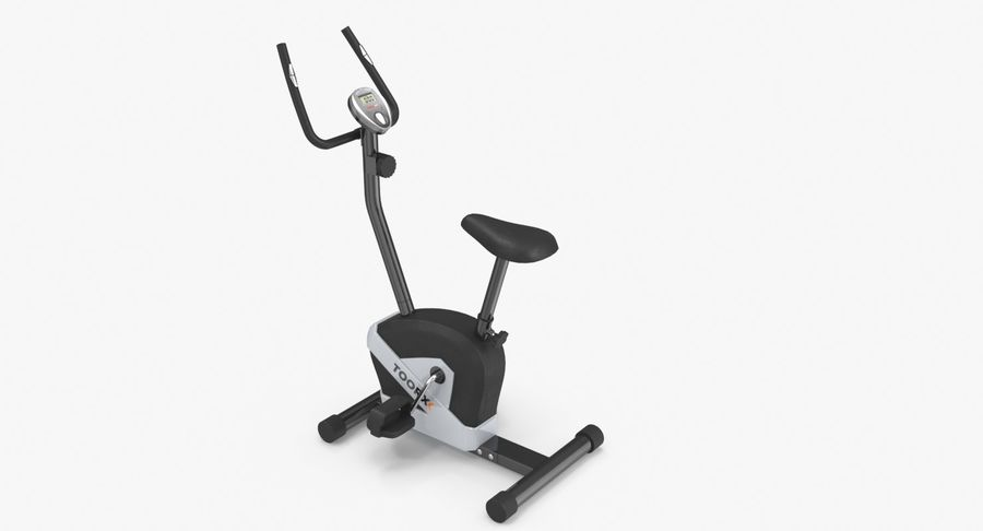 Exercise bike royalty-free 3d model - Preview no. 6