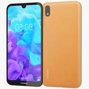 Huawei Y5 2019 Amber Brown 3d model