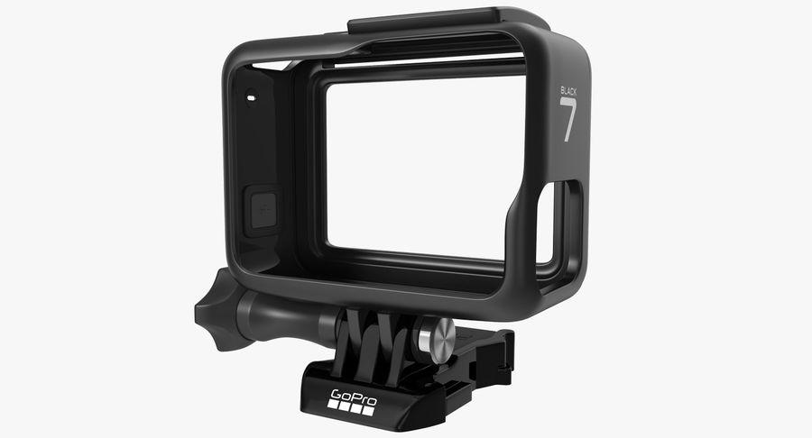 GoPro Hero 7 Koruyucu Kılıf royalty-free 3d model - Preview no. 2