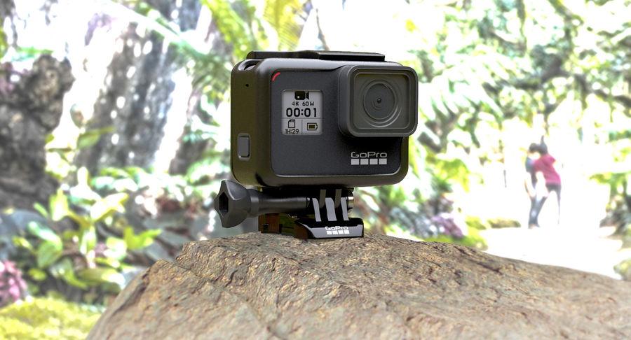 GoPro Hero 7 Koruyucu Kılıf royalty-free 3d model - Preview no. 3