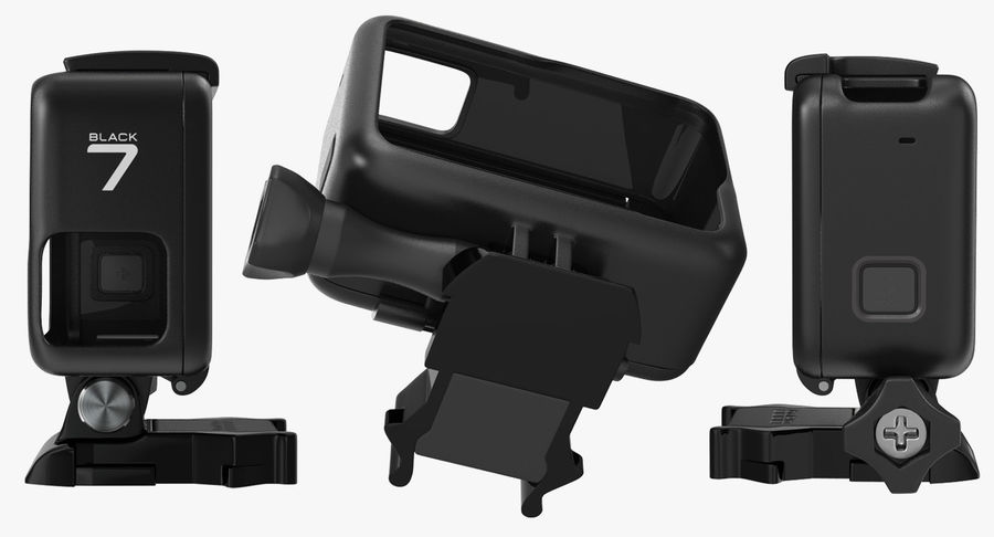 GoPro Hero 7 Koruyucu Kılıf royalty-free 3d model - Preview no. 6