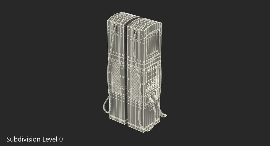 EV Charging Station royalty-free 3d model - Preview no. 9