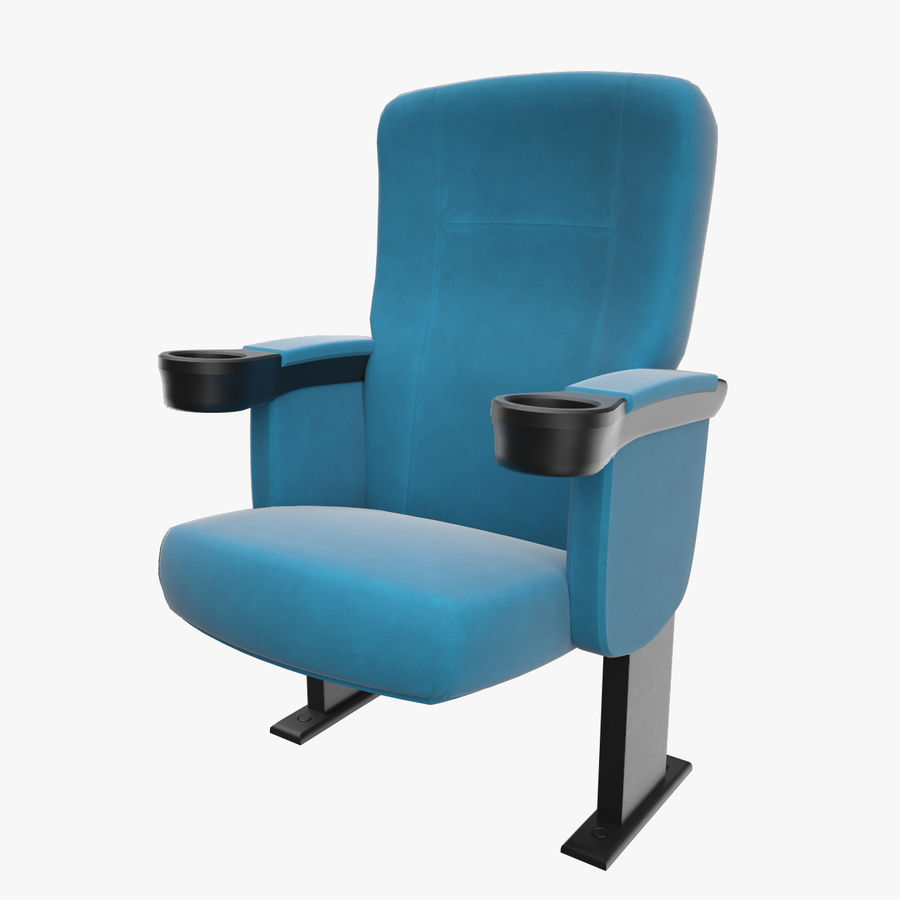 Cinema Chair royalty-free 3d model - Preview no. 1