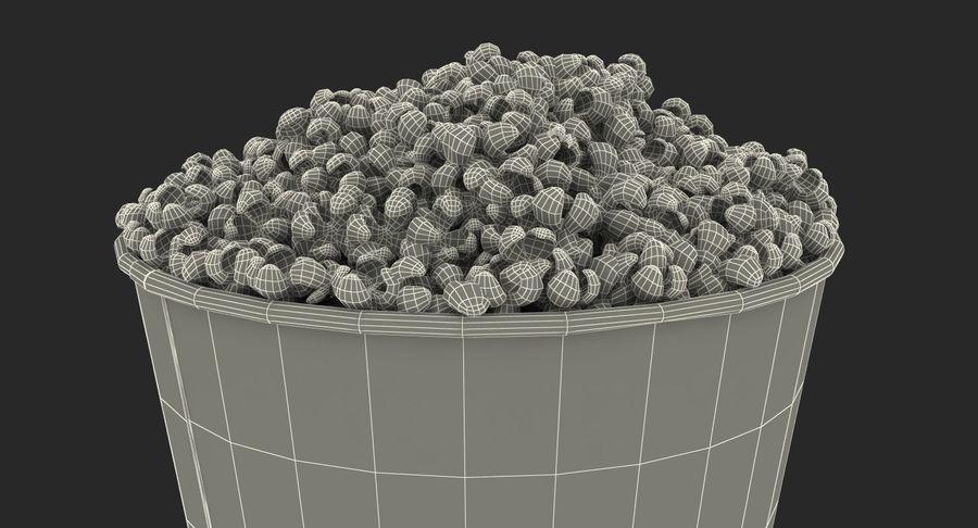 Big Popcorn Bucket royalty-free 3d model - Preview no. 18