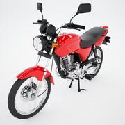 Motocicleta Urbana 3d model