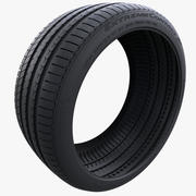Continental Extreme Contact Sport Tire 3d model