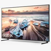 Samsung Q900R QLED Smart 8K UHD TV 82インチ2019 3d model