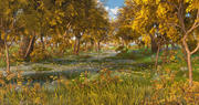 Höstens skogsväg 3d model