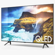 Samsung Q70R QLED Smart 4K UHD TV 75インチ2019 3d model