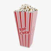 Popcorn Cup lang 3D-model 3d model