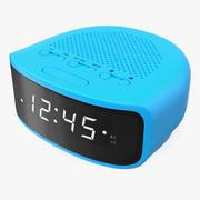 Digitale klokradio algemeen 3d model