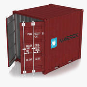 Cargo Container 10ft 3d model