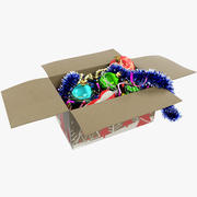 クリスマスツリーのおもちゃ箱 3d model