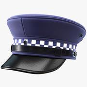 Kapelusz policyjny 3d model