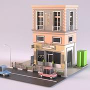 Optical Shop 01 3d model