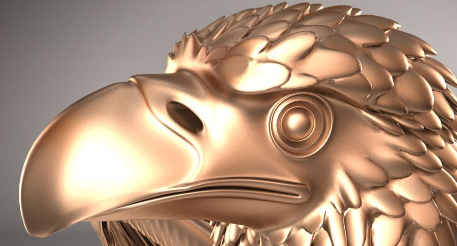 Adler royalty-free 3d model - Preview no. 8