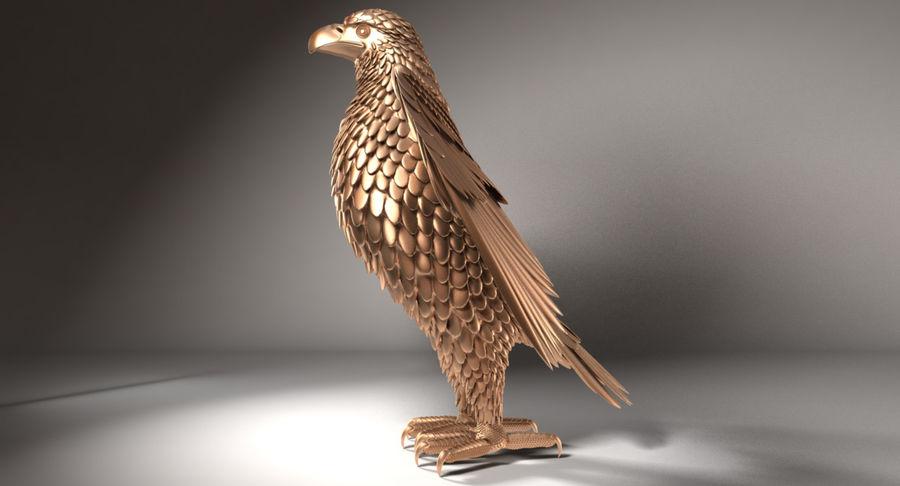 Adler royalty-free 3d model - Preview no. 4