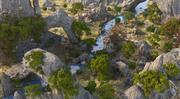 Rock River Forest 3d model