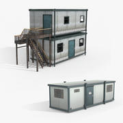 Portacabin Sites 3d model