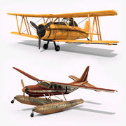 飛行機 3d model