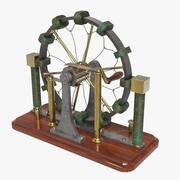 Wimshurst Static Machine Induction 3d model