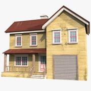 Villa House 3 3d model