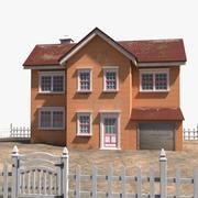 Villa House 4 3d model