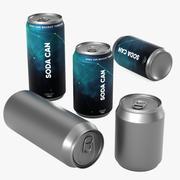 ソーダ缶 3d model