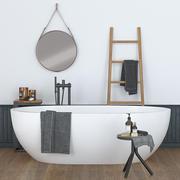 Ceramica Cielo SHUI COMFORT with decor 3d model
