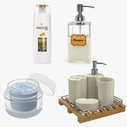 Bathroom Accessories 3D Models Collection 3d model