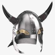 Casque Viking 02 3d model
